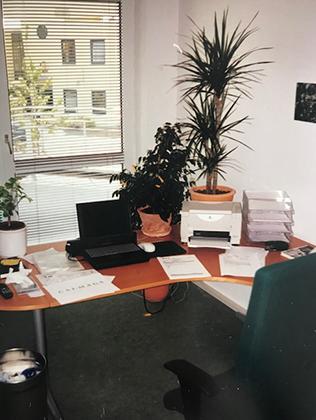 altes Büro